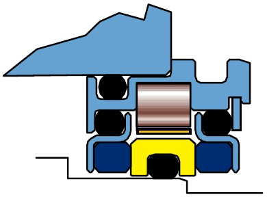 Figure 1: Dual-Face Magnetic Bearing Housing Seal (Source: AESSEAL plc, Rotherham/UK, and Knoxville/Tennessee