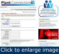 "To log in to your Plant Connection account, simply type your e-mail address and password into the spaces provided and click ""Login to My Account."""