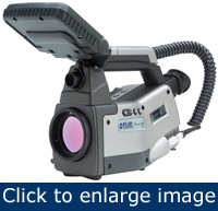 Figure 1. Typical IR camera used for PPM thermography (Photo courtesy of FLIR Systems, Inc.)