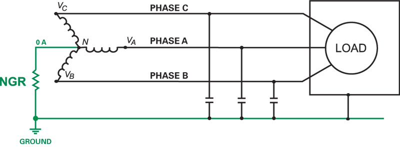 Article_ArcFlashRisk3HR electrical safety mitigate arc flash risk high resistance neutral grounding resistor wiring diagram at gsmx.co