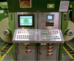 Figure 3: The main control panel tells operators and maintenance personnel exactly where the problem is located. (Source: AutomationDirect)