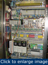 electrical systems 10 steps to control electrical cabinet problems rh plantservices com E-Stop Cabinet Wiring System Control Cabinet Wiring Mess