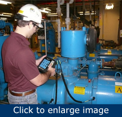 Figure 1. Vibration analysis complements other predictive maintenance tools.