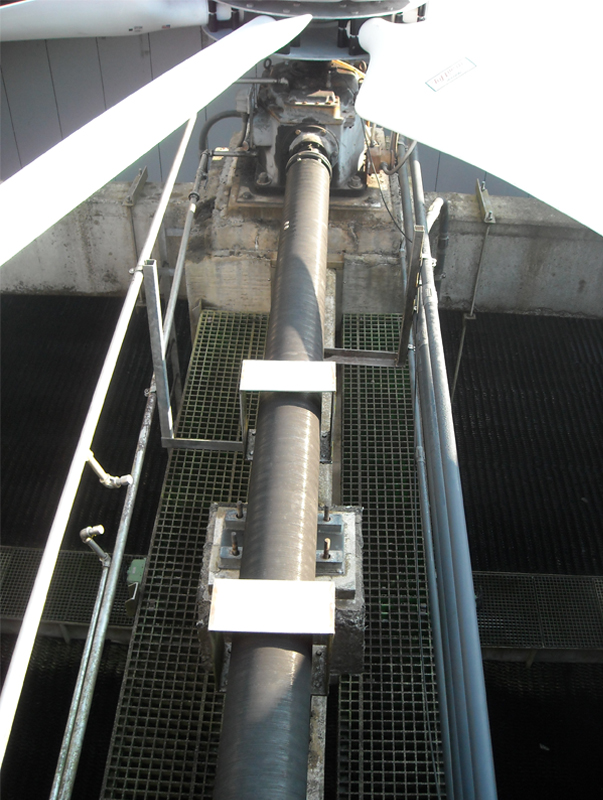 Cooling Tower Fan : Alignment simple steps to accurate it s a long