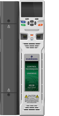 Emerson 39 s unidrive hs30 and hs70 variable speed drives are for Emerson ultratech variable speed motor