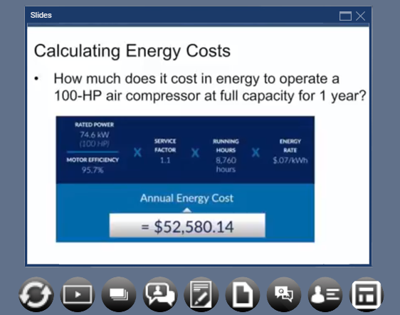 Plant Services On-Demand Webinars: Compressed Air System