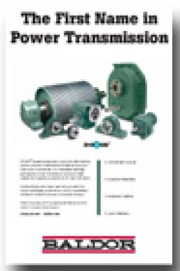Company profile baldor electric plant services for Baldor direct drive cooling tower motors